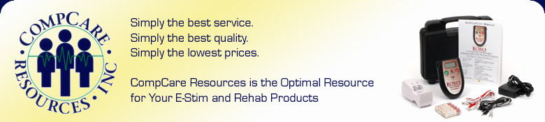 CompCare Resources Incorporated: The optimal resource for your e-stim and rehab products.